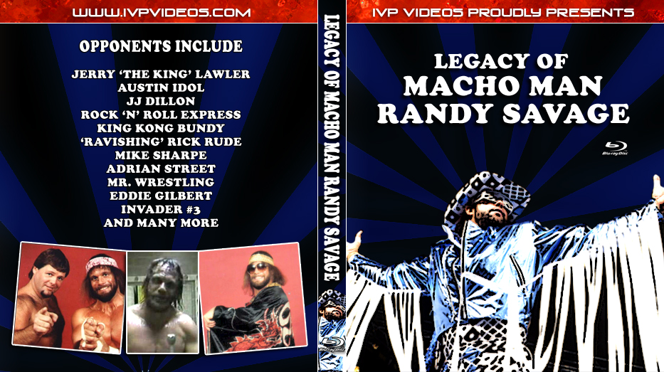 Best of Randy Savage (Blu-Ray with Cover Art)